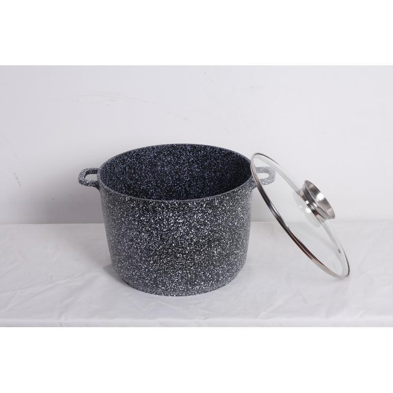 Pokrywa metalowa Czarna (śr. 16 cm)