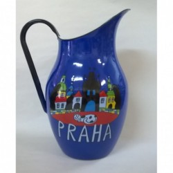 Dzbanek emaliowany 2,5L Granatowy Praga